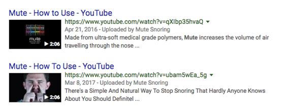 Exemplo de schema de vídeo (pesquisa)